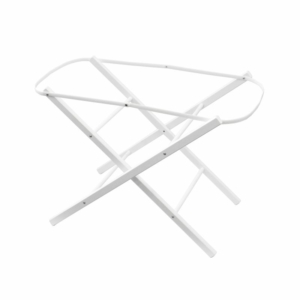 Shnuggle Moses Basket Folding Stand-White (New)