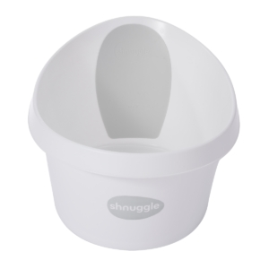 Shnuggle Toddler Bath-White and Grey (NEW)