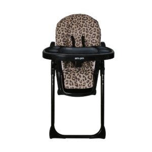 My Babiie Christina Milian AMPM Premium Highchair-LEOPARD MBHC8A